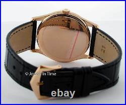 Patek Philippe Calatrava 5196 18K Rose Gold Mens Watch with Box 5196R