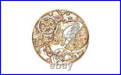 Patek Phillipe Calatrava Rose Gold Complications Skeletion 40 Anniversary 5180-R