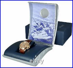 RARE Breguet Type XX Transatlantique Salmon 18K Rose Gold Chronograph 3820 40mm