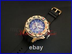 Richard Mille RM028 Diver Automatc 18k Rose Gold 47mm 300m Skeleton Black Rubber