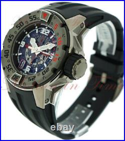 Richard Mille Rm028 Diver Titanium Skeleton Automatic 47mm With Date 2 Straps