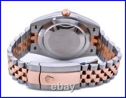 Rolex Datejust 41 Watch 126331 Wimbledon Dial With Two Tone Rose Gold Jubilee