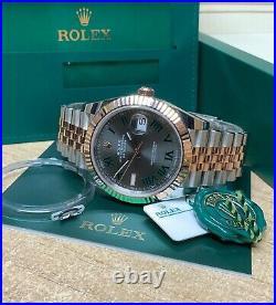 Rolex Datejust 41mm 126333 Bi Colour Wimbledon Dial 2020 UNWORN