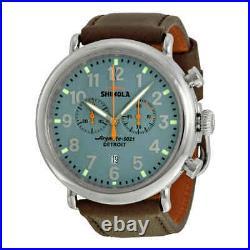 Shinola The Runwell Chronograph Slate Blue Dial Men's Watch 11000167