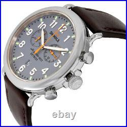 Shinola The Runwell Quartz Movement Blue Dial Men's Watch S0110000167