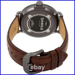 Shinola The Runwell Quartz Movement Blue Dial Men's Watch S0120065287