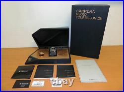 Tag Heuer Carrera MikroTourbillonS CAR5A51. FC6331 Double Tourbillon $235K LNIB