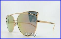 Tiffany & Co. TF3064 6139/4Z Rubedo Rose Gold Mirror New Sunglasses withBox 61mm