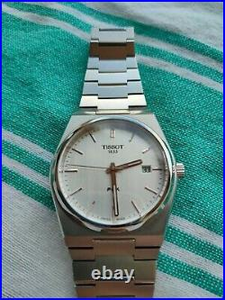 Tissot PRX Silver/White/Rose Gold Men's Swiss Quartx Watch T137.410.11.031.00