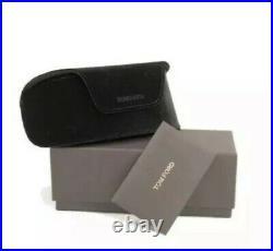 Tom Ford FT0371 371 01B Anoushka Black Gold Grey Gradient Women Cateye Sunglass