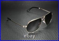 Tom Ford Marko FT0144 28D Shiny Rose Gold Grey Polarized 58 mm Men's Sunglasses