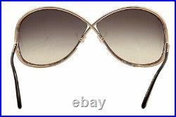 Tom Ford Women's Miranda TF130 TF/130 28B Rose Gold Fashion Sunglasses 68mm