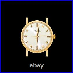 USSR/Soviet Vintage RAKETA 2209 Solid Rose Gold 583,14k 23 Jewel Wrist Watch