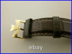 Vacheron Constantin Malte Dual Time 42005/000J-8901 18K 38MM Regulateur. Serviced