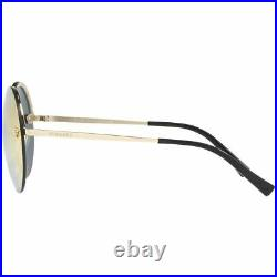 Versace Women's Sunglasses withGrey Rose Gold Mirrored Lens VE2176 12524Z