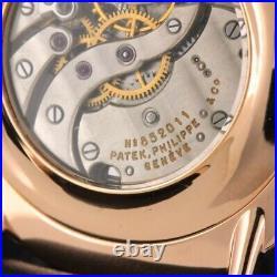 Vintage Patek Philippe Watch High Grade Cal. 8-85 Movement New 14k Rose Gold Case