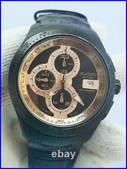 WATCH AUTOMATIC CHRONOGRAPH MENS 44.5mm SWISS MADE SWATCH AG 2009